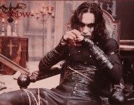 Wallpaper The Crow Brandon Lee.
