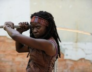 Michonne. The Walking Dead